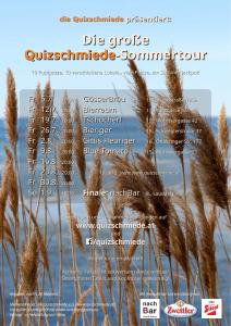 """WIEN: """"Quizschmiede""""-Sommertour @ Tschocherl"""